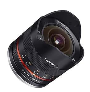 SAMYANG 単焦点魚眼レンズ 8mm F2.8 II ブラック フジフイルム X用 APS-C用