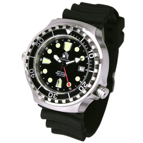 [トーチマイスター1937]Tauchmeister1937 腕時計 ドイツ製大型重厚1000M防水24時自動巻きダイビング T0268(並行輸入品)