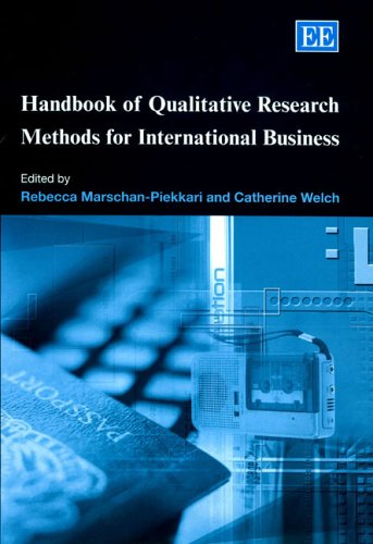 Download Handbook of Qualitative Research Methods for International Business (Research Handbooks in Business and Management Series) 1845424344