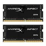 キングストン Kingston ノート用 オーバークロック PC メモリ DDR4-2666 16GBx2枚 HyperX Impact SODIMM HX426S15IB2K2/32 永久保証