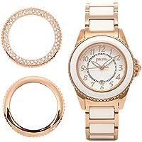 [フォリフォリ] 腕時計 レディース FOLLIFOLLIE WF1R001BDW CERAMIC 4 SEASONS 時計/ウォッチ ホワイト/ピンクゴールド [並行輸入品]