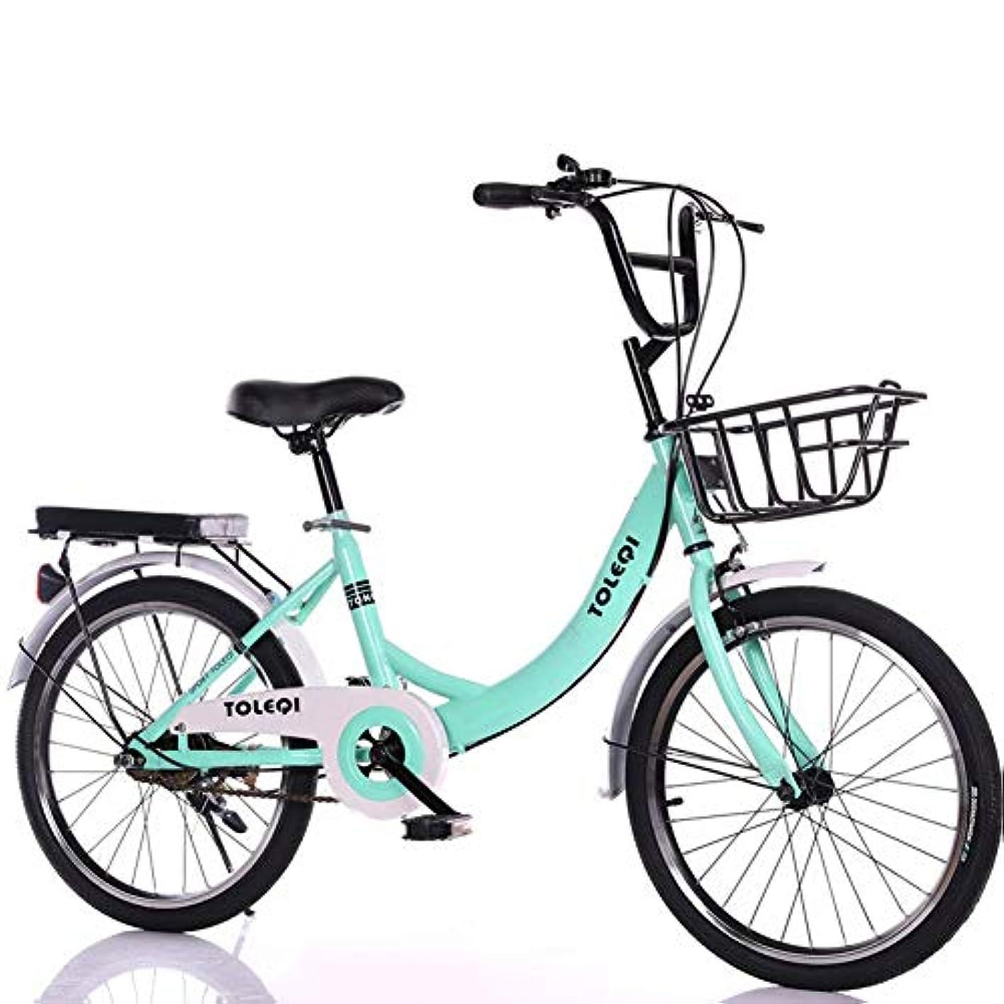 共感する戻す甘美な大人のマウンテンバイクスポークホイール炭素鋼マウンテンバイク折りたたみ自転車いつでも折りたたむスペースを節約する耐荷重90kg