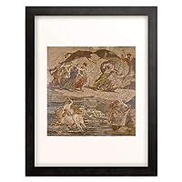 Mosaik, romisch 「The Rape of Europa.」 額装アート作品