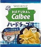 カルビー NaturalCalbeeハードチップス シーソルト味 39g×12袋