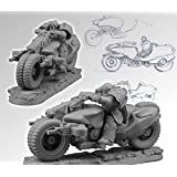Motorcycle by Sci-Fi Miniatures - Assorted 28mm Scibor Monsterous Miniatures [並行輸入品]