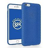 iPhone 6 Plus メッシュ ケース AndMesh Mesh Case for iPhone 6 Plus 日本製 エラストマー ソフトケース 割れない傷つかない優しい質感 Blue 青 ブルー | AMMSC610-BLU