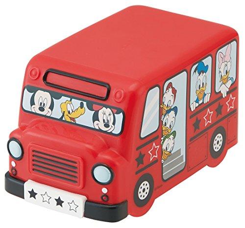 スケーター バス型 ランチケース ランチベルト付き ミッキー&フレンズ ディズニー DLB5