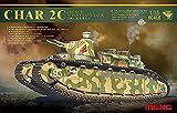 モンモデル 1/35 仏 超重戦車 シャール2C プラモデル