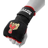 トレーニングボクシングインナー手袋手ラップジェルパッド入りMMA Fistプロテクター包帯Mittsタイ式ペアMedium