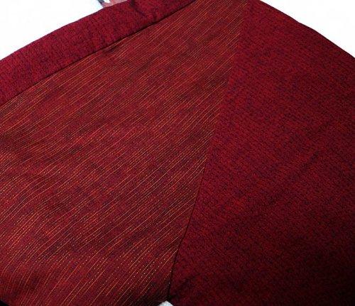 四つ紐前合わせはんてん ラグラン袢天 久留米手づくり 綿100%/宮田織物945y