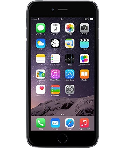 Apple au iPhone6 Plus A1524 (MGA82J/A) 16GB スペースグレイ