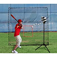 Heater Sports Big League Drop Toss Pitching Machine and Big Play Practice Net [並行輸入品]