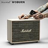 【国内正規保証付き】Marshall WOBURN マーシャル「ウーバーン」Bluetooth搭載のコンパクトスピーカー:クリーム 【ギターアンプ、ヘッドフォン、iPhone、スマートフォン】