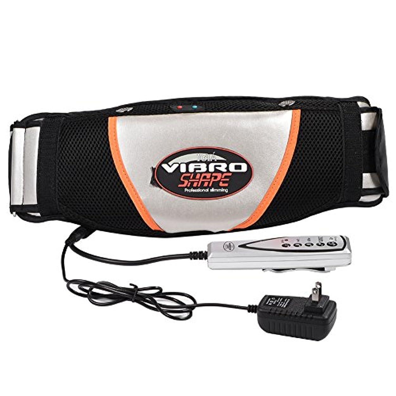 手つかずの黒完全に乾く腹部マッサージャー ベルト 振動 ウエスト 腹部 筋肉 マッサージャー 電気ウエスト トレーナー トレーニング ベルト スマート リモコン操作 使用便利