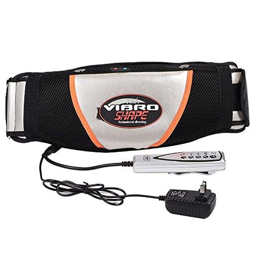 蒸発する適合許可する腹部マッサージャー ベルト 振動 ウエスト 腹部 筋肉 マッサージャー 電気ウエスト トレーナー トレーニング ベルト スマート リモコン操作 使用便利