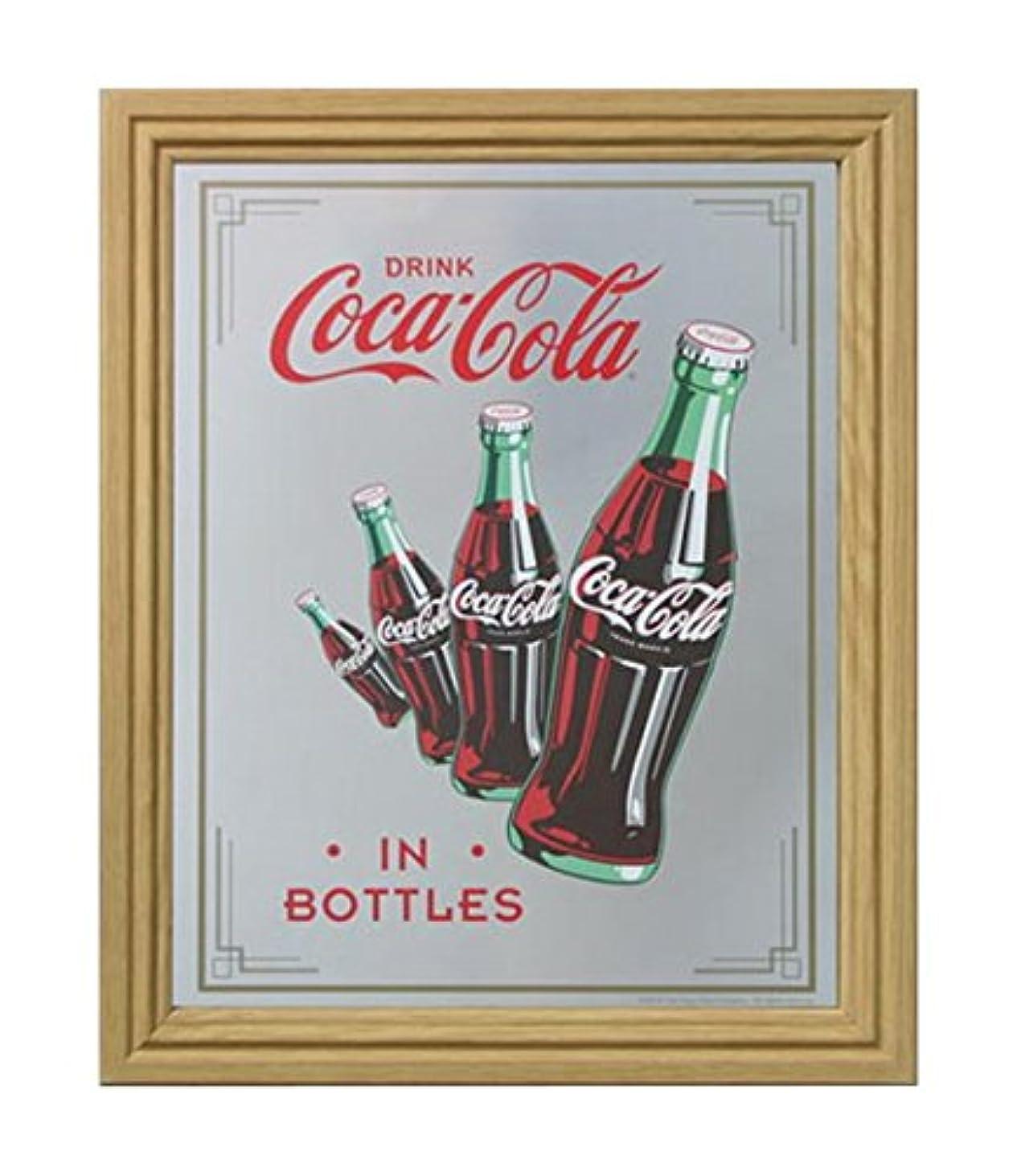 コカコーラ ミラー?鏡 ミラー 46×38×2cm