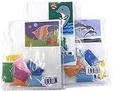 親子で楽しめるサンドアート すな絵キット 3種セットB (イルカとボール/つのだし/空飛ぶイルカ)