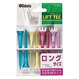 Tabata(タバタ) プラスチックティー リフトティー ロング 8本入 【長さ78mm】 GV1413 L