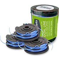 Greenworks .065-Inch Dual Line String Trimmer Replacement Spool 3-Pack 2900719 【Creative Arts】 [並行輸入品]
