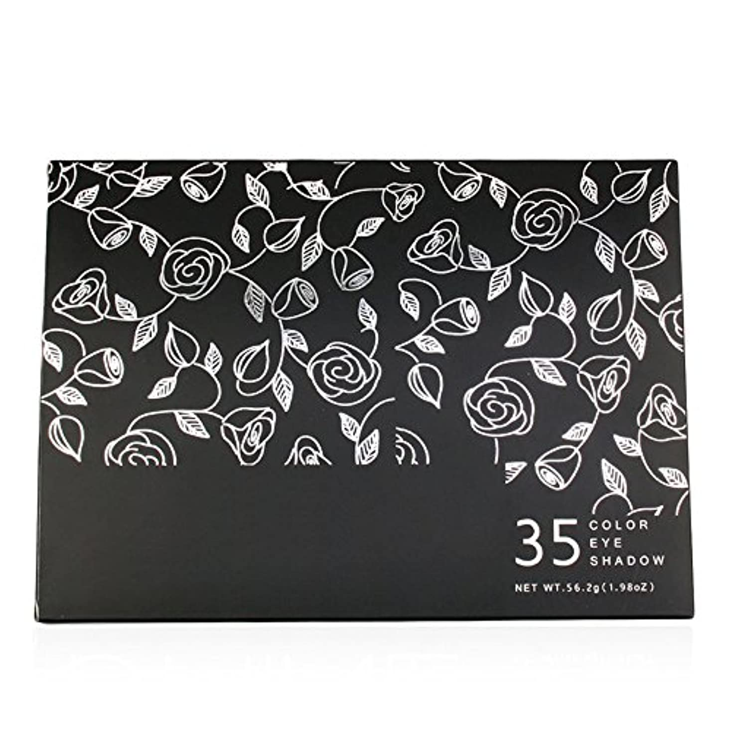 旅行者痛み無条件Akane アイシャドウパレット 35HC 魅力的 ファッション 気質的 綺麗 花柄 高級 マット チャーム 長持ち つや消し おしゃれ 持ち便利 Eye Shadow (35色)