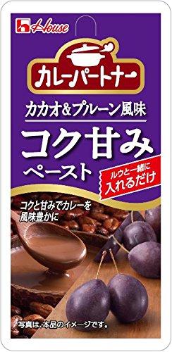 カレーパートナー コク甘みペースト カカオ&プルーン風味 22g