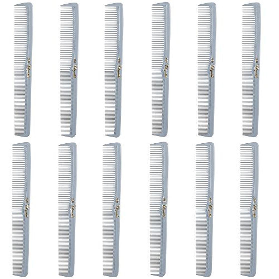 価値ポケット政令Barber Beauty Hair Cleopatra 400 All Purpose Comb (12 Pack) 12 x SB-C400-LGREY [並行輸入品]
