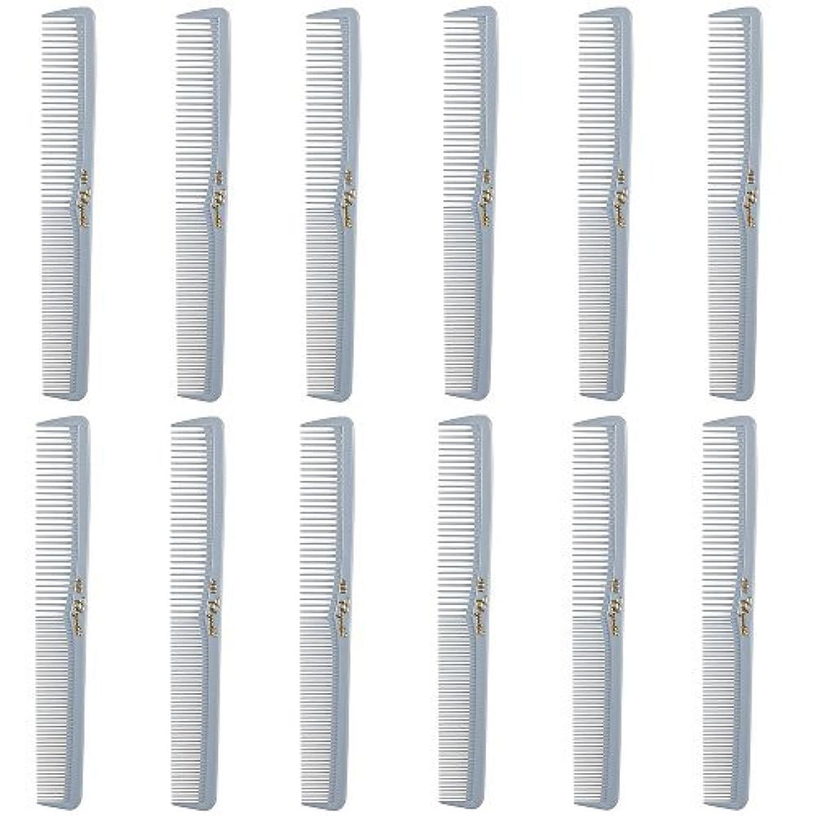 シャーロットブロンテ流出道徳教育Barber Beauty Hair Cleopatra 400 All Purpose Comb (12 Pack) 12 x SB-C400-LGREY [並行輸入品]