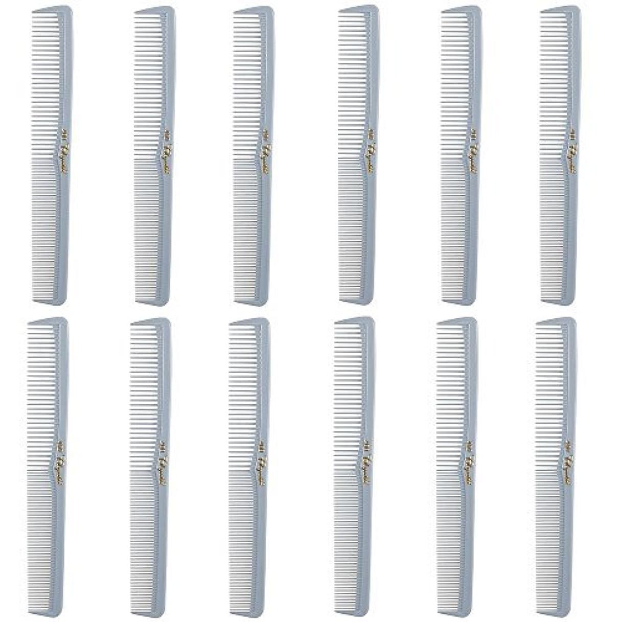 鼓舞する事業新着Barber Beauty Hair Cleopatra 400 All Purpose Comb (12 Pack) 12 x SB-C400-LGREY [並行輸入品]