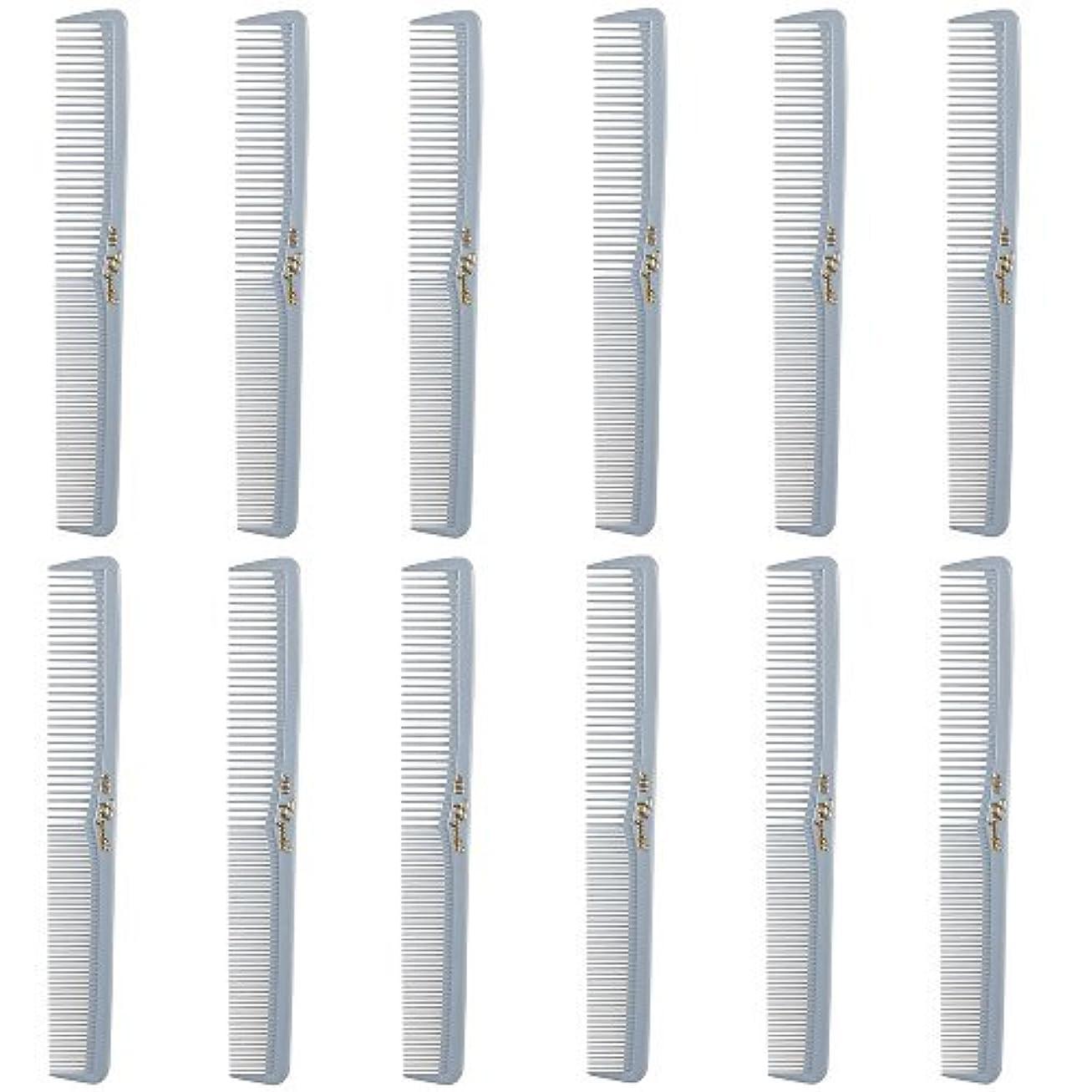 Barber Beauty Hair Cleopatra 400 All Purpose Comb (12 Pack) 12 x SB-C400-LGREY [並行輸入品]