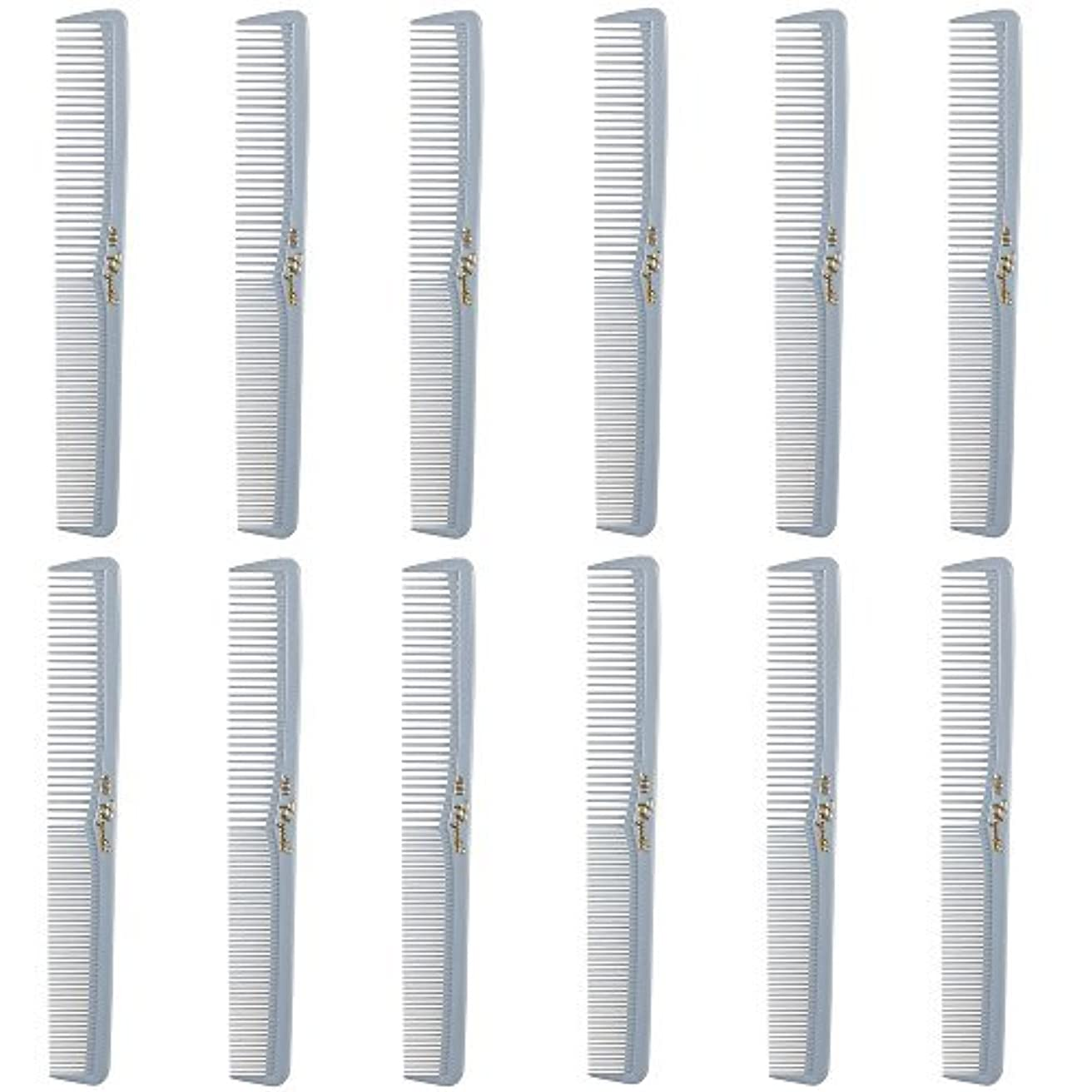 塊売上高ピザBarber Beauty Hair Cleopatra 400 All Purpose Comb (12 Pack) 12 x SB-C400-LGREY [並行輸入品]