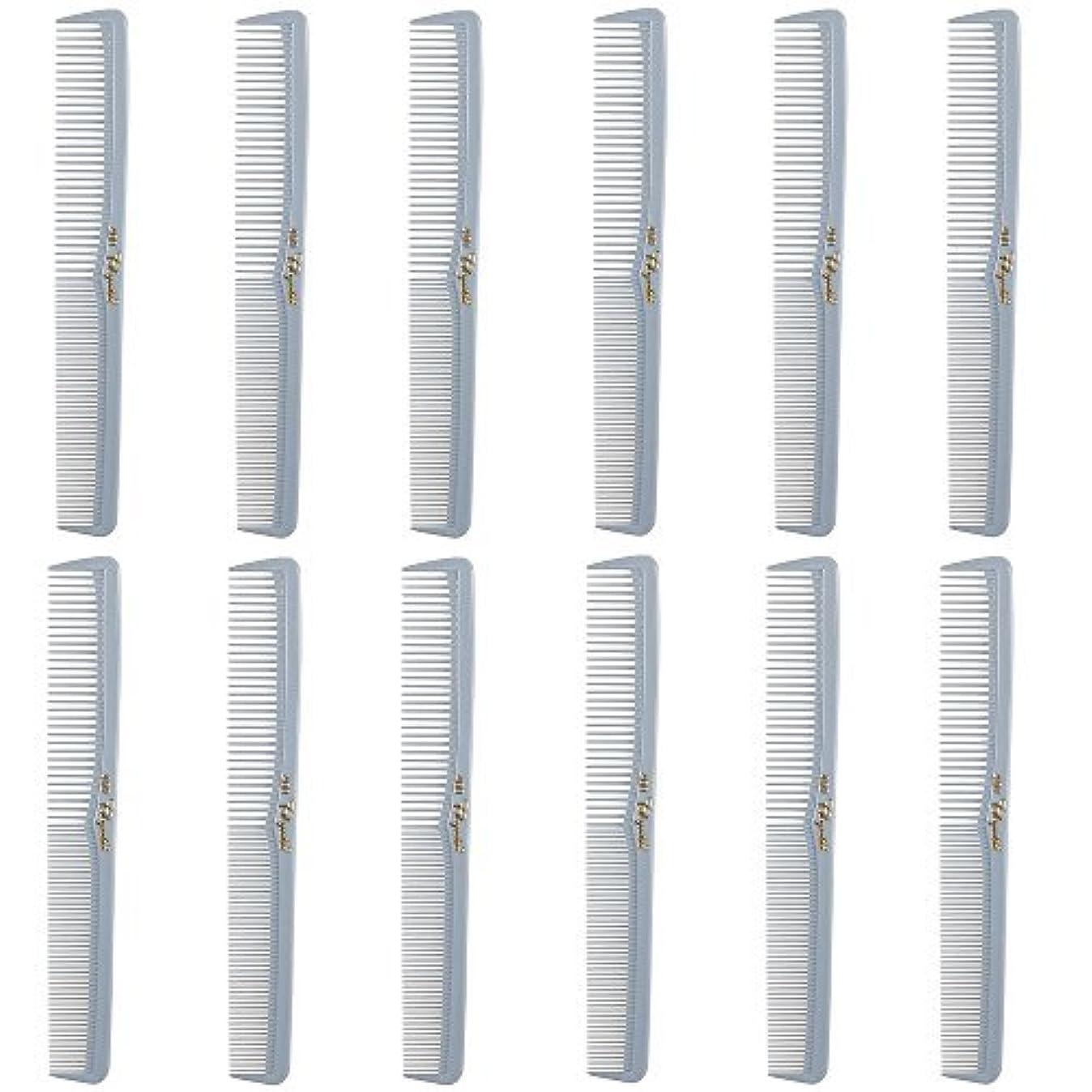 ハプニングひも争いBarber Beauty Hair Cleopatra 400 All Purpose Comb (12 Pack) 12 x SB-C400-LGREY [並行輸入品]