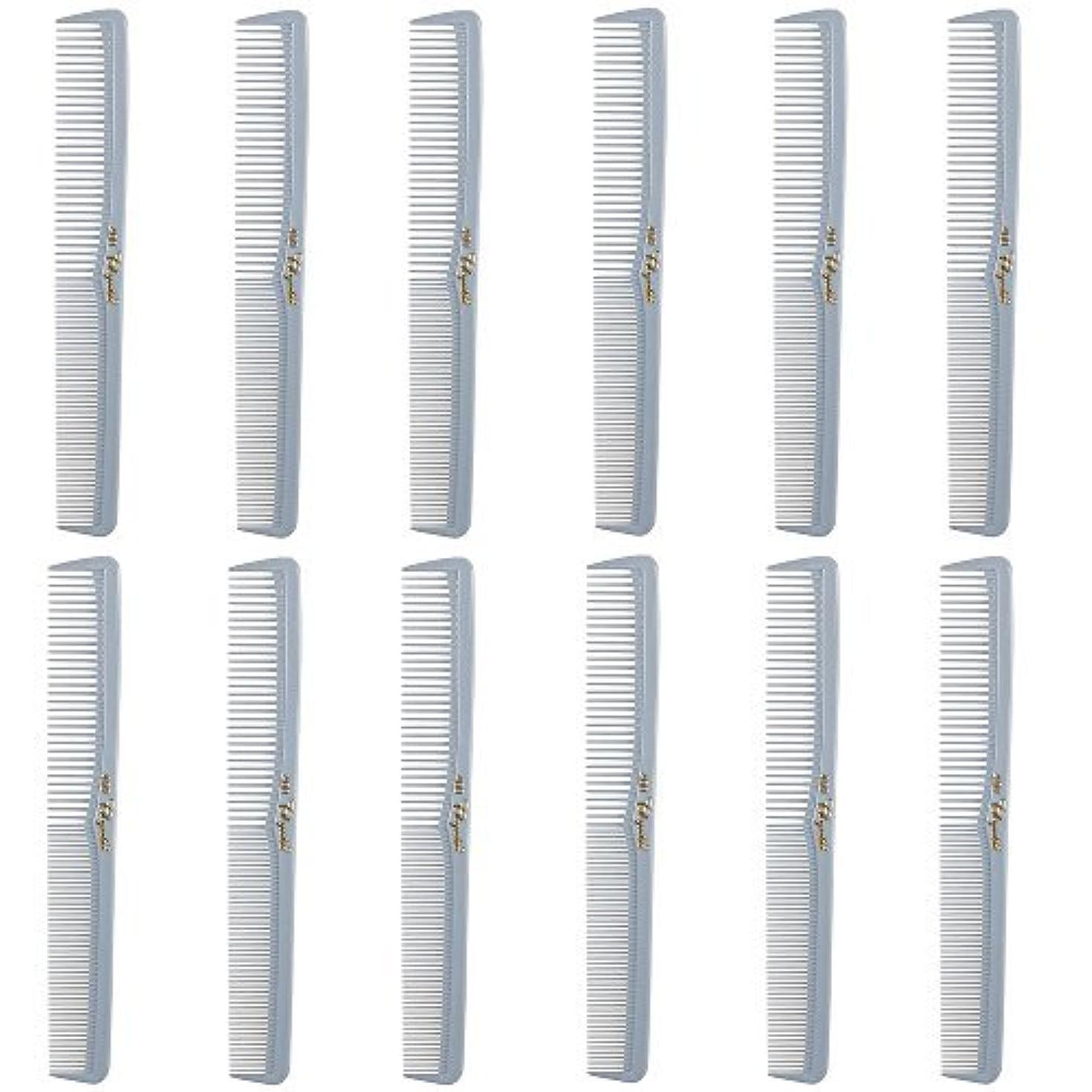 薄汚いくしゃみ小さなBarber Beauty Hair Cleopatra 400 All Purpose Comb (12 Pack) 12 x SB-C400-LGREY [並行輸入品]