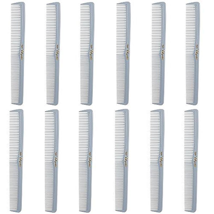 ケープトークンまさにBarber Beauty Hair Cleopatra 400 All Purpose Comb (12 Pack) 12 x SB-C400-LGREY [並行輸入品]