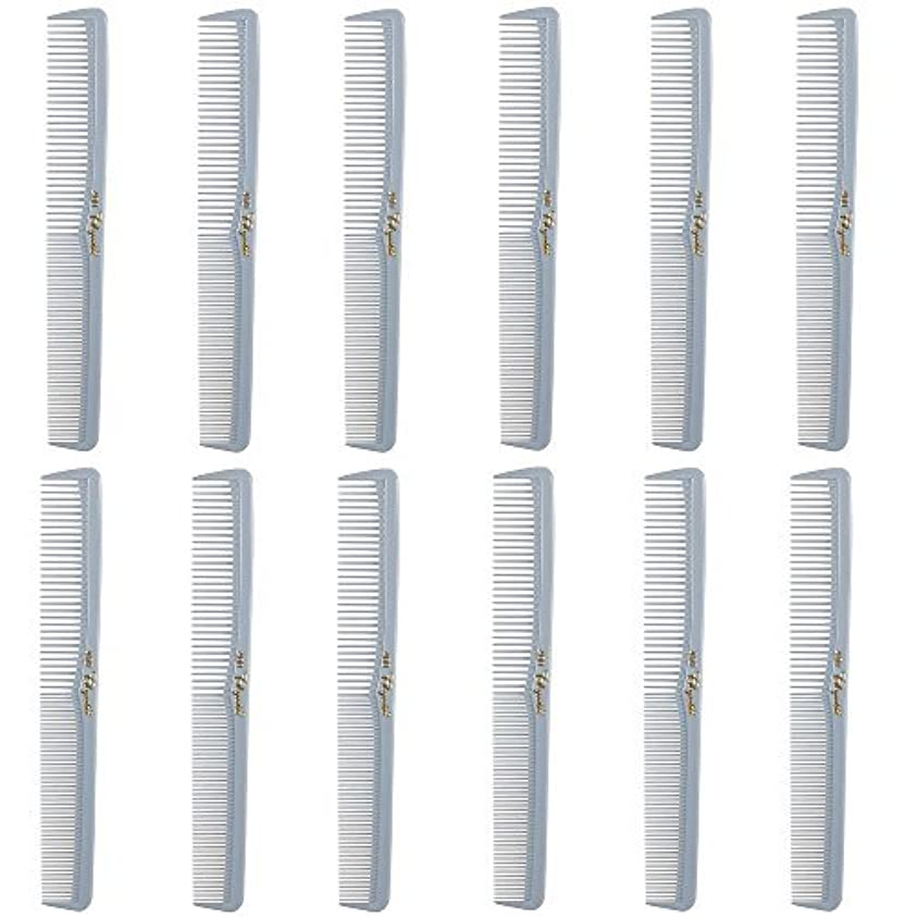 Barber Beauty Hair Cleopatra 400 All Purpose Comb (12 Pack) 12 x SB-C400-LGREY [並行輸入品]