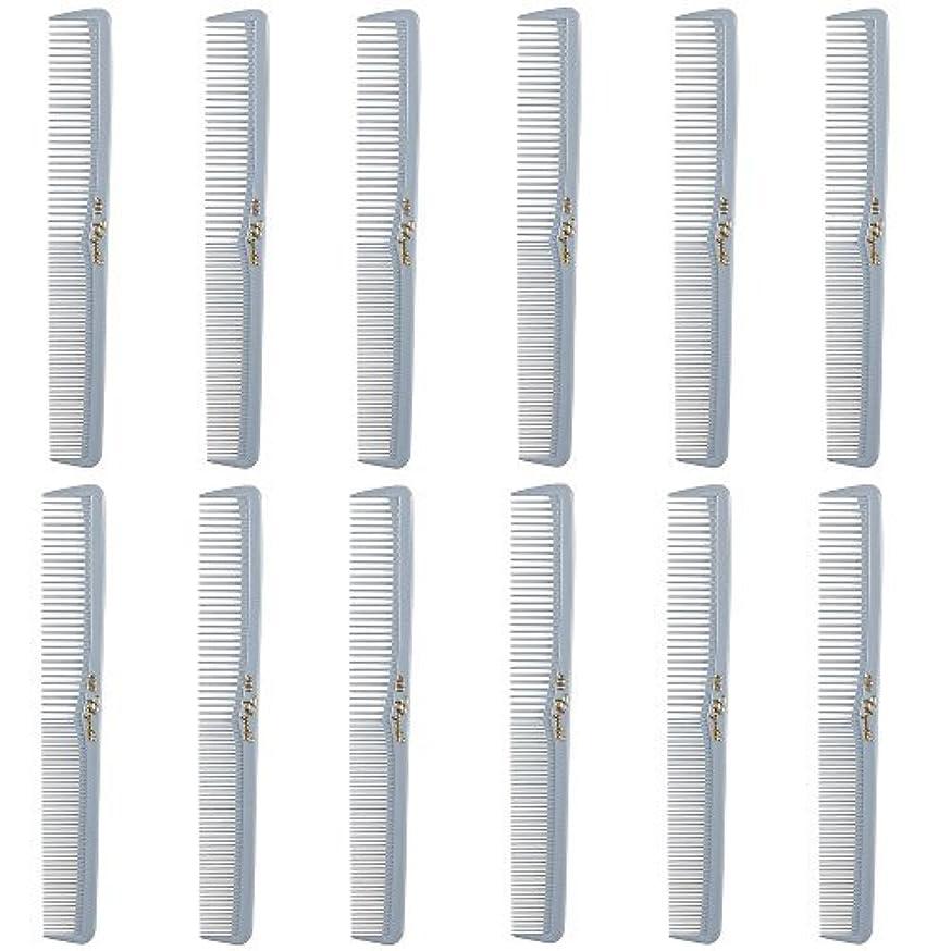 増幅恐怖地上のBarber Beauty Hair Cleopatra 400 All Purpose Comb (12 Pack) 12 x SB-C400-LGREY [並行輸入品]