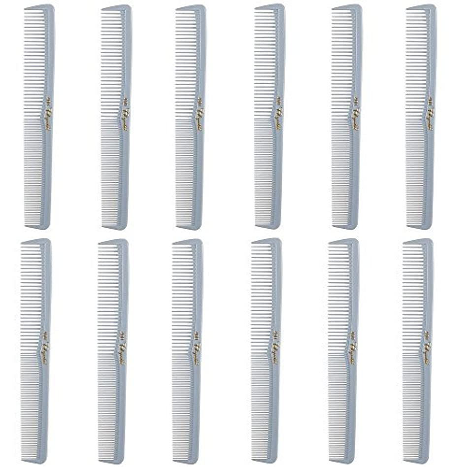 売上高破滅的な腕Barber Beauty Hair Cleopatra 400 All Purpose Comb (12 Pack) 12 x SB-C400-LGREY [並行輸入品]