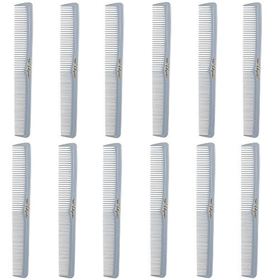交渉する急降下納得させるBarber Beauty Hair Cleopatra 400 All Purpose Comb (12 Pack) 12 x SB-C400-LGREY [並行輸入品]