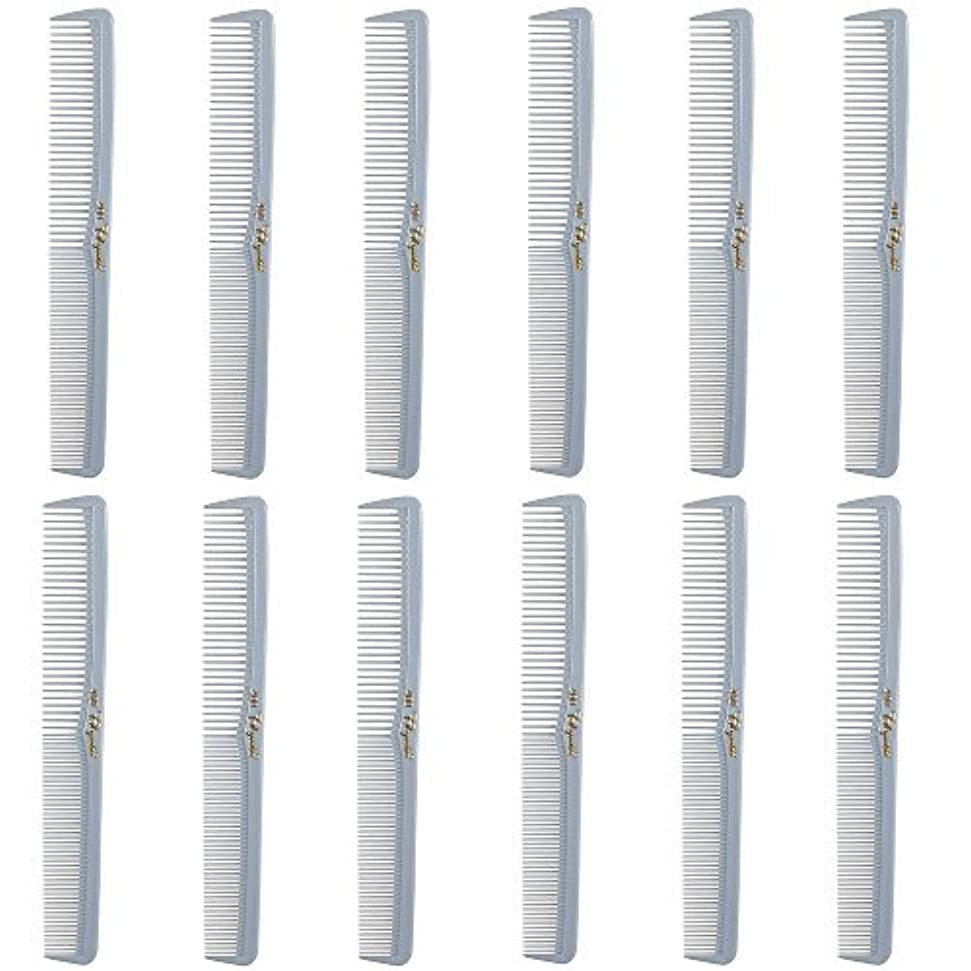 エージェント晴れ別にBarber Beauty Hair Cleopatra 400 All Purpose Comb (12 Pack) 12 x SB-C400-LGREY [並行輸入品]