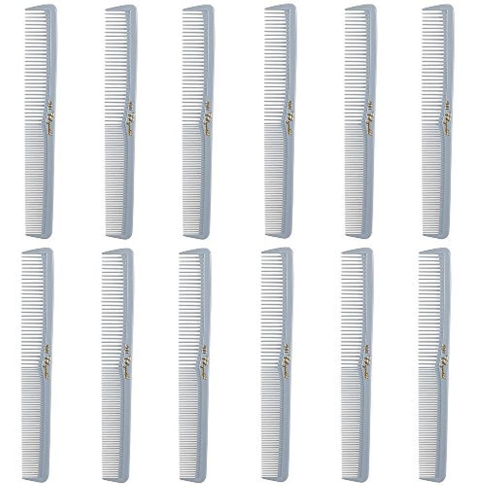 ストロー滑り台居住者Barber Beauty Hair Cleopatra 400 All Purpose Comb (12 Pack) 12 x SB-C400-LGREY [並行輸入品]
