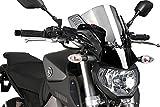 Puig 6894H RAFALE [SMOKE] YAMAHA MT-09 (13-) プーチ ビキニ カウル オートバイ バイク パーツ
