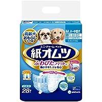 ペット用紙オムツ Mサイズ 小~中型犬 28枚×8個入り(ケース販売)