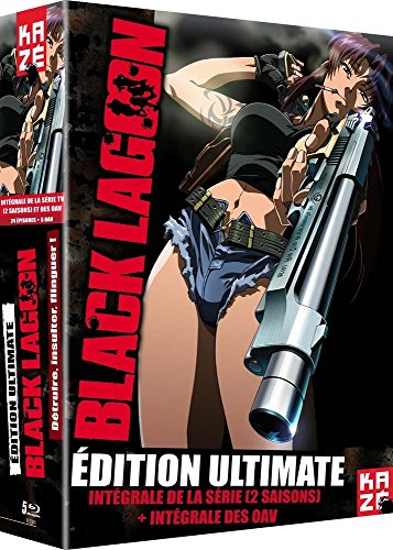 Black Lagoon Intégrale Collector Limitée - Saisons 1 + 2 + OAV Roberta's Blood Trail - 5 BR [Ultimate Edition]