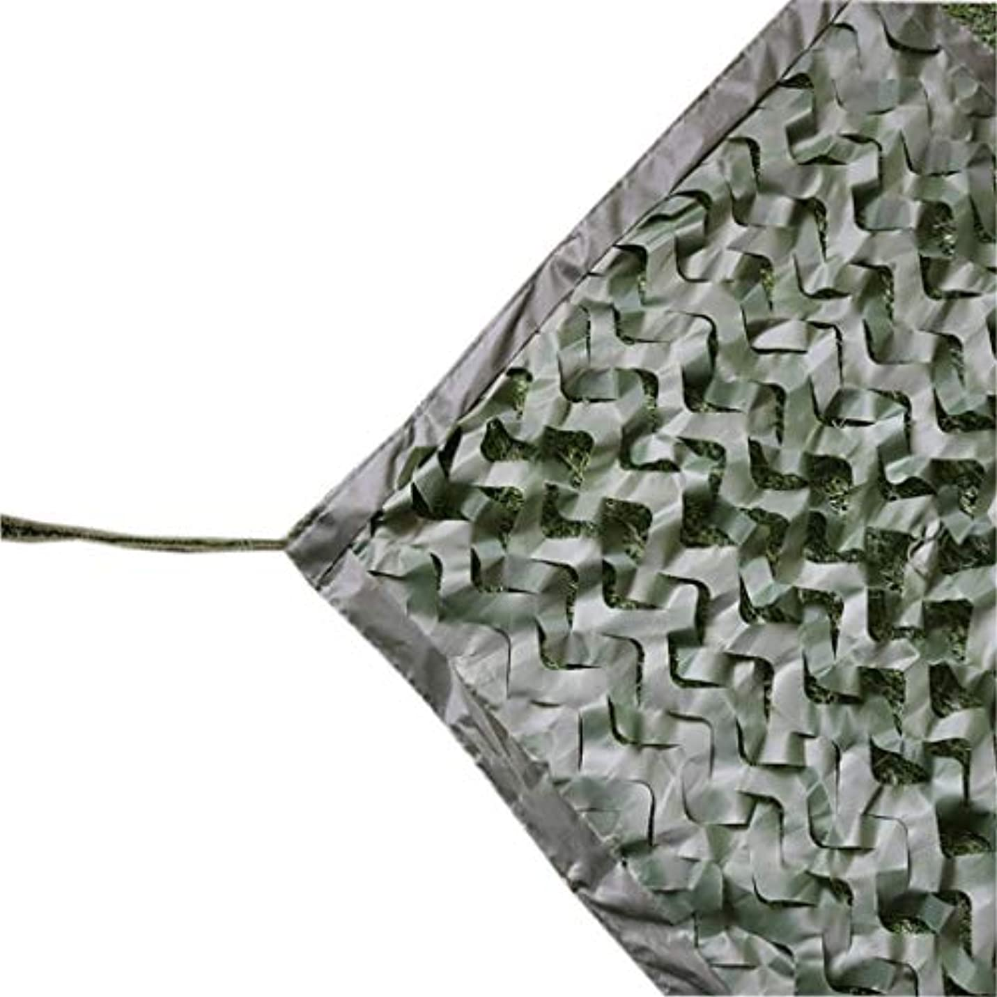 部トランザクション不合格Gaoye 純迷彩、屋外空中迷彩キャンプ軍事狩猟射撃日焼け止めネットのための純粋な緑の迷彩サイズオプション迷彩ネット (Size : 10x10m)
