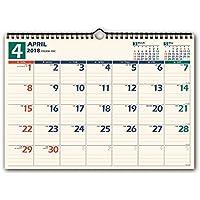 能率 NOLTY カレンダー 2018年 4月始まり 壁掛け14 B4 U115