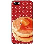 sslink iPhone 5 アイフォン ハードケース ca1167-5 ホットケーキ パンケーキ ドット スマホ ケース スマートフォン カバー カスタム ジャケット au softbank