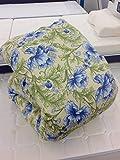 西川リビング ゴアテックス 羽毛布団 ダックダウン シングル A176 日本製 (ブルー)