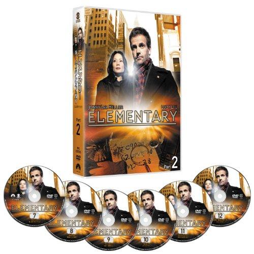 エレメンタリー ホームズ&ワトソン in NY DVD-BOX Part 2(6枚組)の詳細を見る
