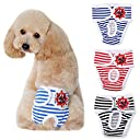犬 オムツカバー サニタリーパンツ マナーパンツ 雄 雌犬兼用 介護用 おでかけ用 マーキング防止 お漏らし 犬用 パンツ 生理パンツ 脱げにくい ペット服