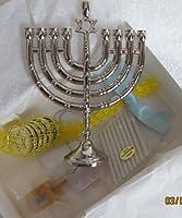 アメリカンガールRebecca人形Hanukkahギフトセット( Chanukah ) Wダビデの星ネックレス、燭台& More ( 2007Retired )