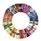 Hommy 100本98色 カラーが豊富できれい! 刺しゅう糸 まとめ買い オリジナルセット